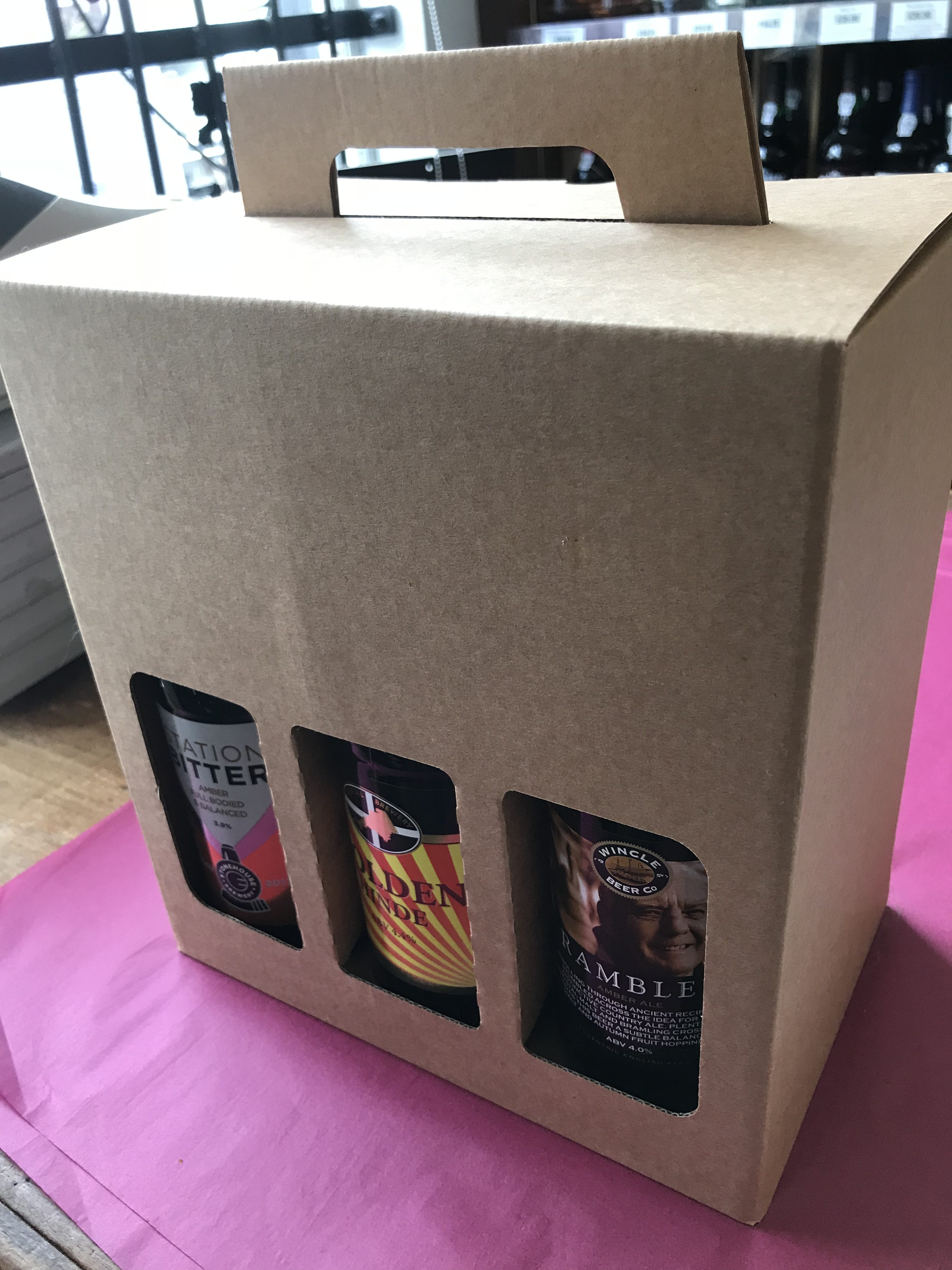 6 Bottle Gift Box With Beers Of Your Choice Variable Price